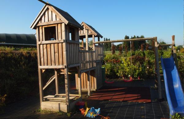 Kinderspielplatz im Gartenmarkt Meisenbach